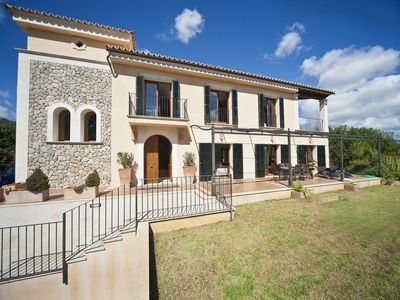 Photo for es Capdella Villa, Sleeps 10 with Pool, Air Con and WiFi