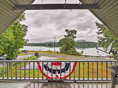Photo for Renovated Lakefront Home w/ Big Deck in Northville