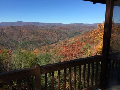 view from the porch!