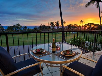 Photo for Country Club Villas #216 Panoramic Golf & Ocean Views, 3 Pools, Tennis, Jacuzzi, A/C
