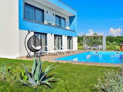 Photo for Villa with private pool, 2 ensuite bedrooms, 20 minutes form Novigrad