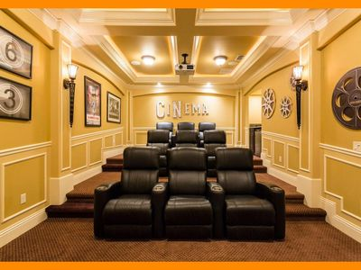 Photo for Reunion Resort 288 - Luxury villa with home theater and game terrace near Disney