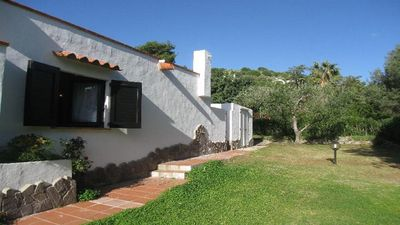 Photo for Independent villa in Sardinia 150 meters from the crystal clear sea