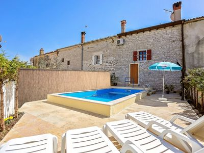 Photo for Stone Holiday Home Marasi with Private Pool near Vrsar