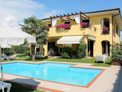 Photo for Colourful holiday home in Bardolino near lake Garda