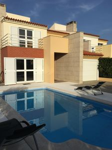 Photo for Luxurious 2 Bedroom Villa + 1 Bedroom, Private Heated Pool by the Beach