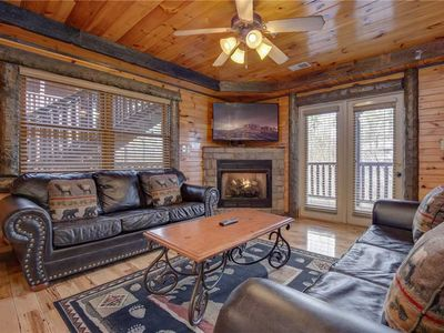 Photo for Pine Tree Lodge, 8 Bedrooms, Pool Table, Theater, Hot Tub, WiFi, Sleeps 38