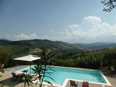Photo for Boutique, Serviced Two Bedroom Villa – Unspoilt Italy.  Four to Six Guests