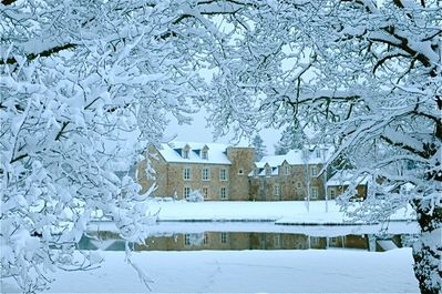 A winter view of the house...