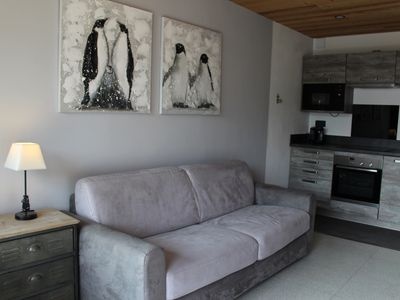 Photo for 33m2 apartment with modern mountain garage