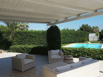 Photo for Exclusive villa a few kilometers from the sea with terrace and private pool