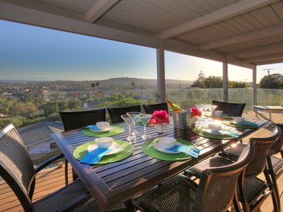 Photo for Updated/remodeled 4 BR with amazing ocean and Santa Barbara views!