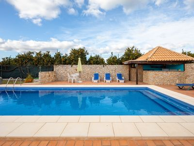 Photo for Quite Country Villa, Pool With Cabana Bar, BBQ, WiFi, 7kms to Tavira centre.