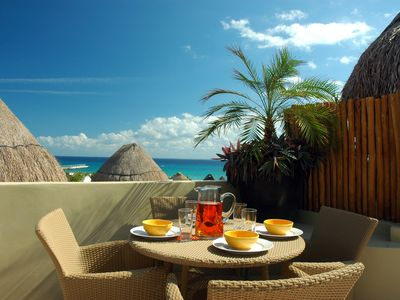 Photo for Winner of Top 25 Small Condo/Hotel in All Of Mexico-Penthouse 3 Bedr -Beach Club - Promos