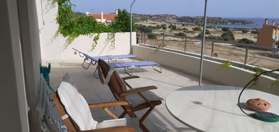 Photo for Sunset at Cape Sounio, Suite 1 bedroom (00000333313)