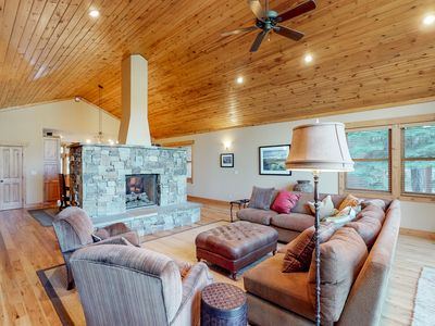 Photo for NEW LISTING! Spacious house with private hot tub, shared pool, golf and skiing