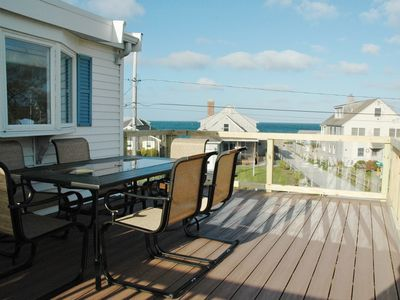 Photo for Beach House w/ Roof Deck, outdoor shower, firepit & AC!
