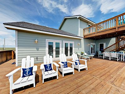 Deck - Welcome to Port Aransas! Your rental is professionally managed by TurnKey Vacation Rentals.