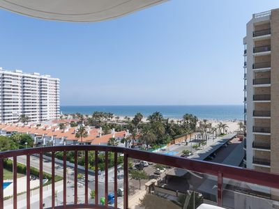 Photo for Luxurious Apartment 50 m from beach, wonderful views, pool, wifi,air conditioned