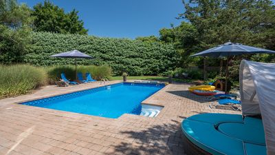 Photo for New Listing: Family-Friendly Westhampton House, 2 Mi. to Town, Hot Tub, Private Pool, Grassy Lawn