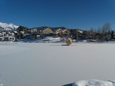 Photo for Apartment La Prada in Laax - 3 persons, 1 bedrooms