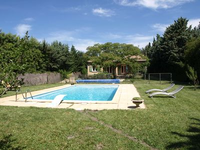 Photo for Caumont Sur Durance: houses / villas - 7 rooms - 6/8 persons