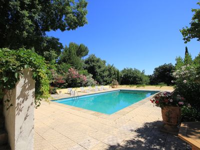 Photo for Villa 300M2 private pool with 4 bedrooms 3 bathrooms Air conditioning Wifi
