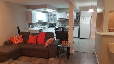 Photo for Cozy, spacious 1 bedroom suite, sleeps up to four. 100% Private