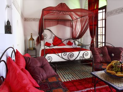 Photo for Paprika beautiful suite in a traditional riad in the medina of Fez