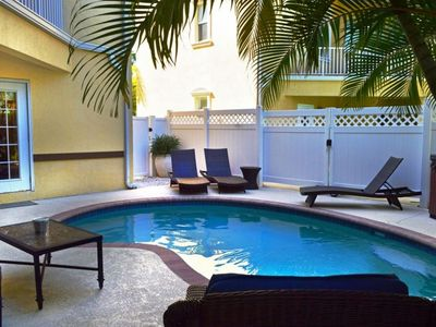 Photo for ASK ABOUT LAST MINUTE DEALS Heated Pool Free WiFi & Trolley Close to Beach!