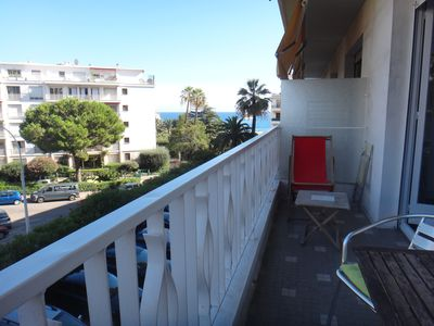 Photo for Large Vacation Studio, Sea Side, Sleeps 4, Near The Port Of Nice