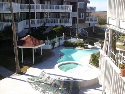 Photo for Quaint Condo Hideaway At Charming Boutique Complex-Over The Boardwalk Onto Beach