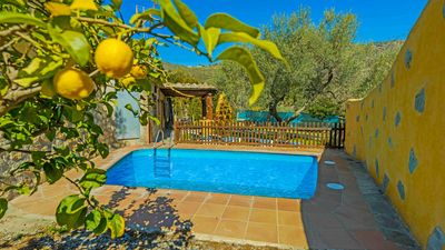 Photo for Villa with picturesque details and fenced private pool