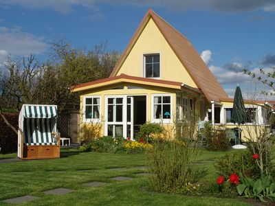 Photo for Peters-Ferienhaus on the Baltic Sea in Ahrenshoop, directly on the bay, quiet location