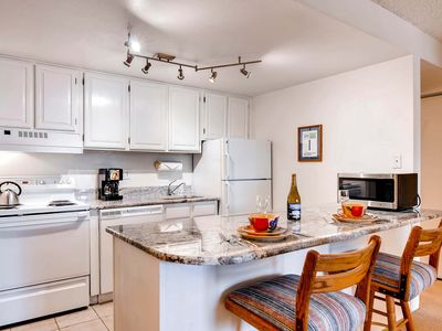 Photo for 7th Night Free! Remodeled Kitchen & Bath, Wi-Fi, Heated Pool Access, Parking