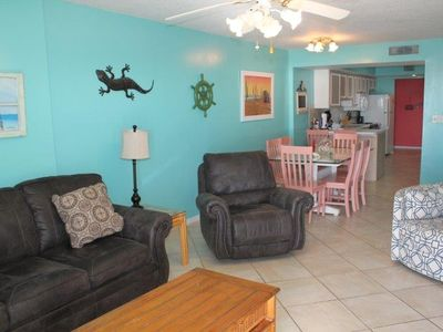 Photo for Ocean House I 1501 - Corner unit - Great beachfront location and views.