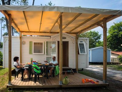 Photo for Camping Le Boudigau **** - Mobil Home Riviera 3 Rooms 4 People
