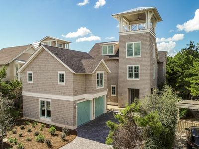Photo for Gorgeous New Home in WaterSound!  Private Pool!  House + Carriage House (8 BR)!