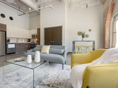 Photo for JURNY | Convention Center | Rustic 1bd In Downtown