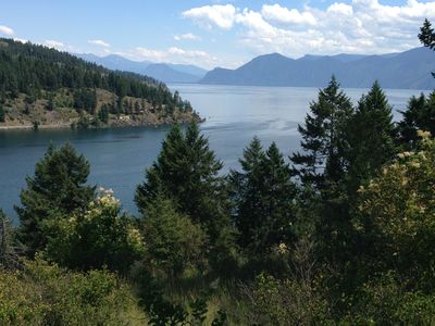 Photo for Garfield Bay House with Fantastic Views of Lake and Mountains