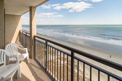 Perfect view, direct ocean front, large balcony