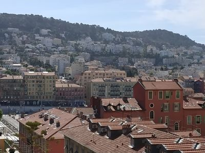 Photo for 2 rooms sea view port of Nice