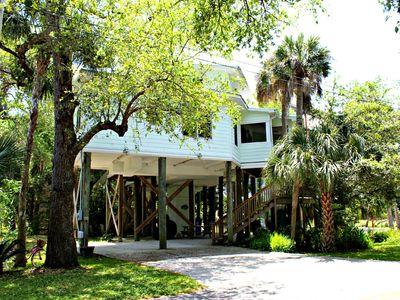 Photo for The Treehouse Cottage: 2BR Elevated House. Close to Everything!