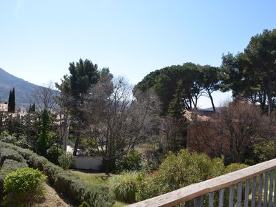 Photo for Bright apartment with views, terrace and garage, in Nyons en Drôme Provençale