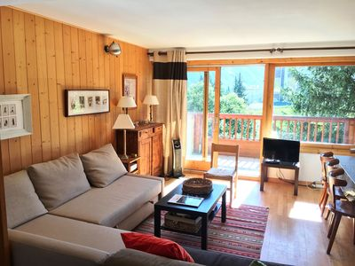 Photo for Nice apartment of 70m ² in the heart of Courchevel 1850 - 8/10 people