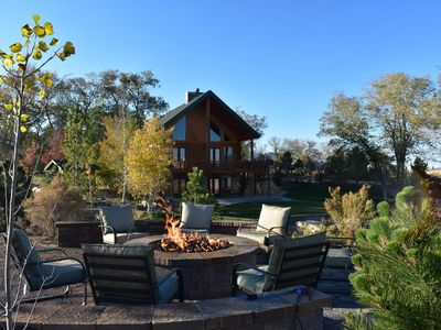Photo for Lodges at Pheasant Run is tucked away in the beautiful country, sleeps over 60!