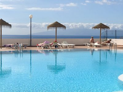 Photo for Costa Adeje Lovely studio with ocean view free Wi-Fi