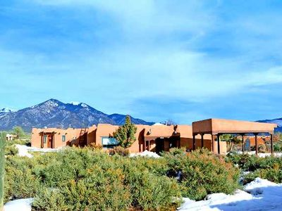 Photo for Cantina la Compound - Panoramic Mountain Views Hot Tub - Air Conditioned