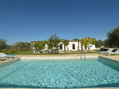 Photo for Traditional Trullo, 3 bedrooms & large pool in Ostuni, Puglia, Italy
