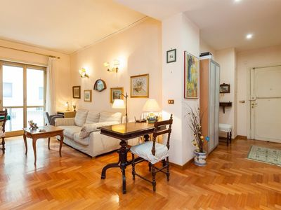 Photo for Apartment 878 m from the center of Naples with Internet, Parking (629380)